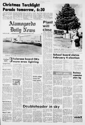 2020 Alamogordo Christmas Parade Winners Alamogordo Daily News from Alamogordo, New Mexico on December 4