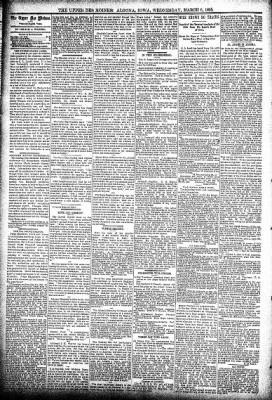 The Algona Upper Des Moines from Algona, Iowa on March 6, 1895 · Page 4