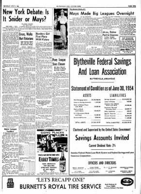 The Courier News from Blytheville, Arkansas on July 1, 1954 · Page 9