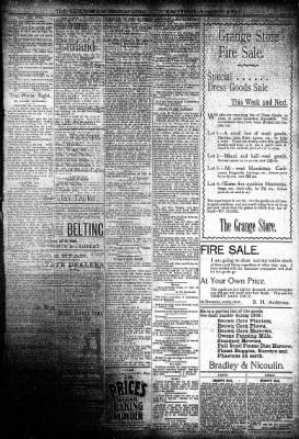 The Algona Upper Des Moines from Algona, Iowa on March 27, 1895 · Page 5