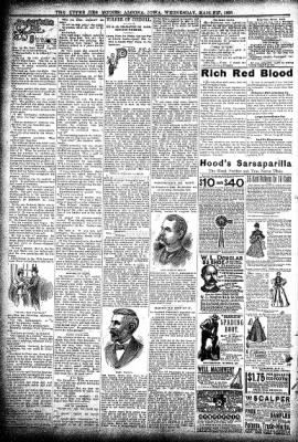 The Algona Upper Des Moines from Algona, Iowa on March 27, 1895 · Page 8