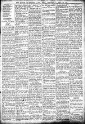The Algona Upper Des Moines from Algona, Iowa on April 17, 1895 · Page 3