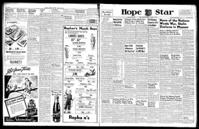 Hope Star from Hope, Arkansas on March 22, 1946 · Page 1