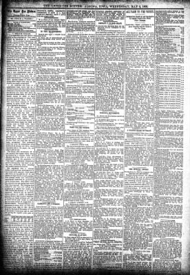 The Algona Upper Des Moines from Algona, Iowa on May 8, 1895 · Page 4