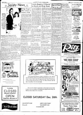 The Courier News from Blytheville, Arkansas on December 23, 1953 · Page 4