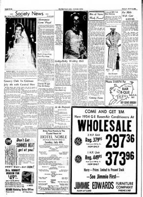 The Courier News from Blytheville, Arkansas on July 2, 1954 · Page 4
