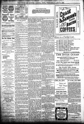 The Algona Upper Des Moines from Algona, Iowa on July 3, 1895 · Page 8