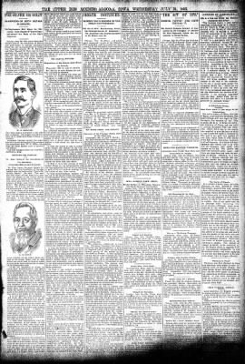 The Algona Upper Des Moines from Algona, Iowa on July 24, 1895 · Page 3