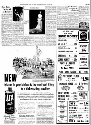 Evening news from sault sainte marie michigan on july 8 1953 page 7 the evening news from sault sainte marie michigan on july 8 1953 page 7 m4hsunfo