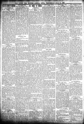 The Algona Upper Des Moines from Algona, Iowa on July 31, 1895 · Page 2