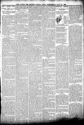 The Algona Upper Des Moines from Algona, Iowa on July 31, 1895 · Page 3
