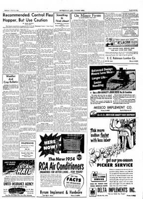 The Courier News from Blytheville, Arkansas on July 2, 1954 · Page 7