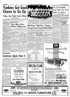 The Courier News from Blytheville, Arkansas on July 2, 1954 · Page 8