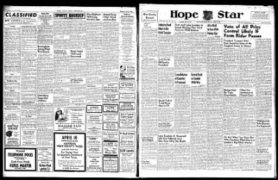Hope Star from Hope, Arkansas on April 8, 1946 · Page 1
