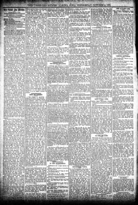The Algona Upper Des Moines from Algona, Iowa on October 2, 1895 · Page 4