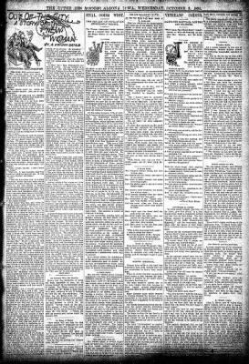 The Algona Upper Des Moines from Algona, Iowa on October 9, 1895 · Page 3