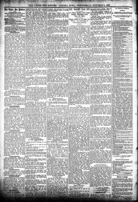 The Algona Upper Des Moines from Algona, Iowa on October 9, 1895 · Page 4