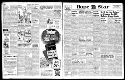 Hope Star from Hope, Arkansas on April 10, 1946 · Page 6