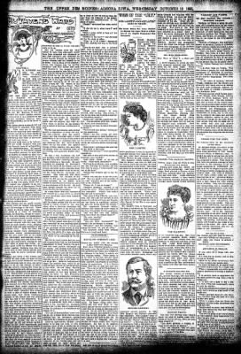 The Algona Upper Des Moines from Algona, Iowa on October 16, 1895 · Page 3