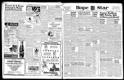 Hope Star from Hope, Arkansas on April 11, 1946 · Page 8