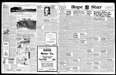 Hope Star from Hope, Arkansas on April 13, 1946 · Page 1