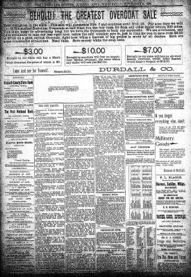The Algona Upper Des Moines from Algona, Iowa on November 13, 1895 · Page 1