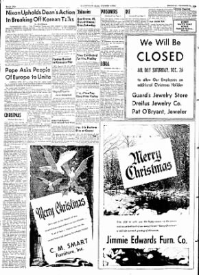 The Courier News from Blytheville, Arkansas on December 24, 1953 · Page 2