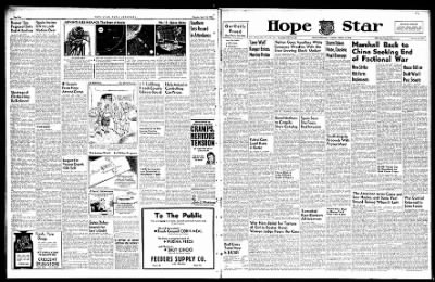 Hope Star from Hope, Arkansas on April 16, 1946 · Page 1