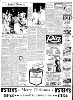 The Courier News from Blytheville, Arkansas on December 24, 1953 · Page 4