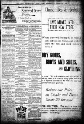 The Algona Upper Des Moines from Algona, Iowa on December 4, 1895 · Page 5