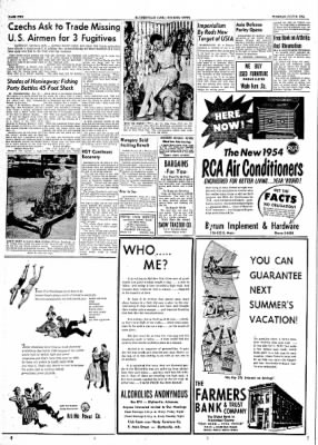 The Courier News from Blytheville, Arkansas on July 6, 1954 · Page 1