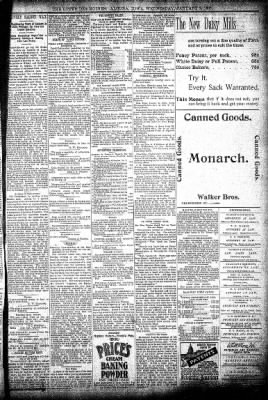 The Algona Upper Des Moines from Algona, Iowa on January 8, 1896 · Page 5