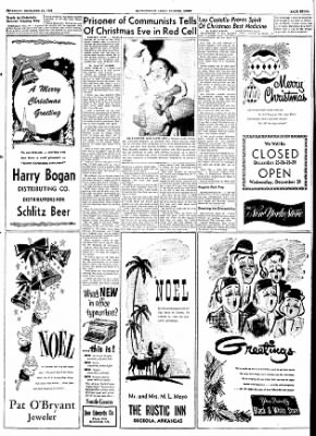 The Courier News from Blytheville, Arkansas on December 24, 1953 · Page 7