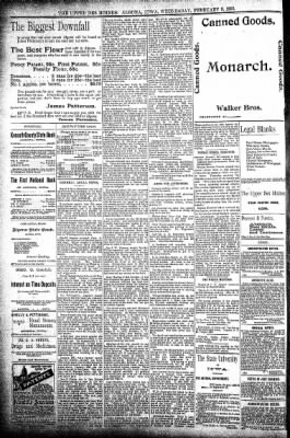 The Algona Upper Des Moines from Algona, Iowa on February 5, 1896 · Page 8