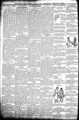The Algona Upper Des Moines from Algona, Iowa on February 19, 1896 · Page 2