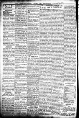 The Algona Upper Des Moines from Algona, Iowa on February 26, 1896 · Page 4