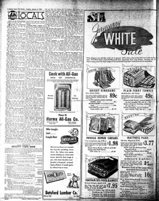 The Algona Upper Des Moines from Algona, Iowa on January 6, 1948 · Page 4