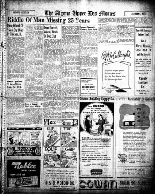 The Algona Upper Des Moines from Algona, Iowa on January 6, 1948 · Page 13