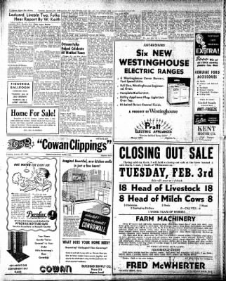 The Algona Upper Des Moines from Algona, Iowa on January 27, 1948 · Page 14