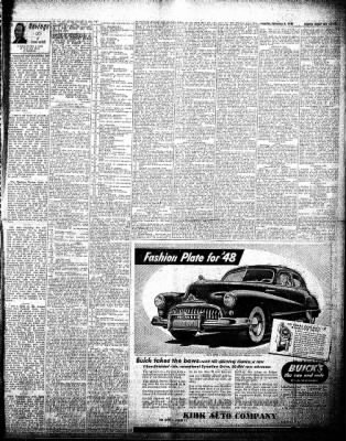 The Algona Upper Des Moines from Algona, Iowa on February 3, 1948 · Page 11