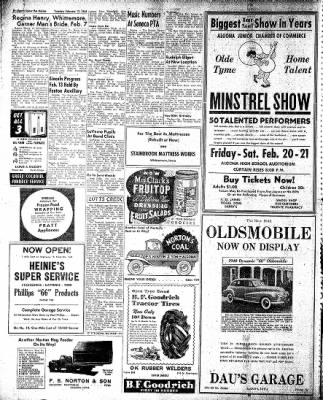 The Algona Upper Des Moines from Algona, Iowa on February 17, 1948 · Page 15