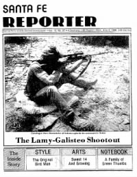 Sample The Santa Fe Reporter front page