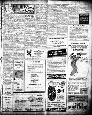 The Algona Upper Des Moines from Algona, Iowa on March 16, 1948 · Page 15
