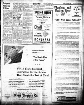 The Algona Upper Des Moines from Algona, Iowa on March 23, 1948 · Page 13