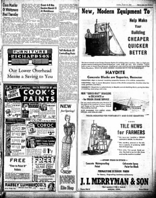 The Algona Upper Des Moines from Algona, Iowa on March 23, 1948 · Page 19