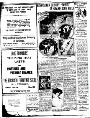 The Frederick Post from Frederick, Maryland on December 10, 1910 · Page 6