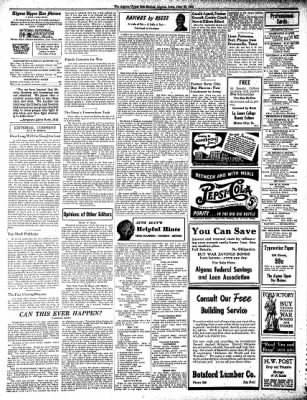 The Algona Upper Des Moines from Algona, Iowa on June 30, 1942 · Page 6