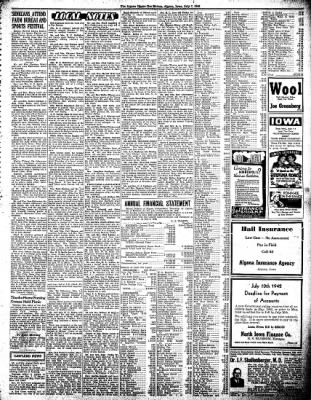 The Algona Upper Des Moines from Algona, Iowa on July 7, 1942 · Page 5