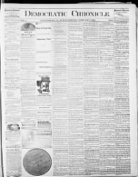 Sample Democratic Chronicle front page