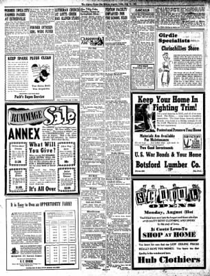 The Algona Upper Des Moines from Algona, Iowa on August 18, 1942 · Page 8